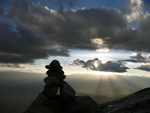 Tramonto al campo morena (4800m)
