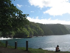 Day9: Maui - Road to Hana - Nihue - LittleBoy (Amudha Irudayam) Tags: boy beach hawaii fishing little maui hana amu amudha nihue