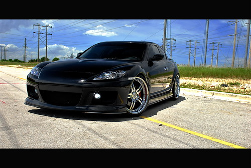 Mazda RX-8 on SEVAS WHEELS S 55