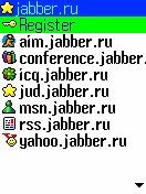 Программы для мобильного - Bombus - jabber клиент