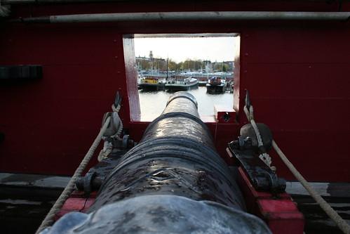 Eastindiaman Amsterdam Cannon