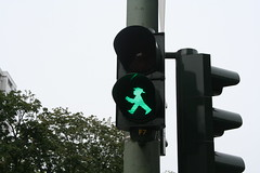 Ampelmannchen 'Crosswalk Guy'