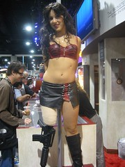 Grindhouse Girl (The Official Star Wars) Tags: starwars comiccon sdcc grindhouse planetterror comiccon2007 sdcc07 sandeigocomiccon