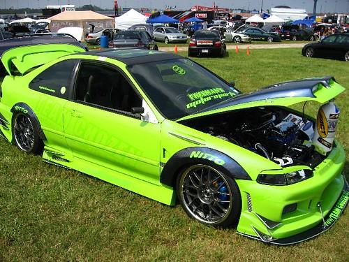 NOPI Nationals Import Auto Show Green Car Atlanta GA A - Car show atlanta ga