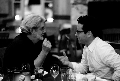 George Lucas and JJ Abrams by Joi.