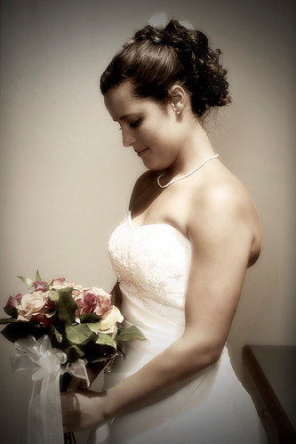 side view updo wedding hair