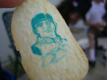 Printed Pringle