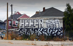 Keepr, Reba, Dement, Rvee (funkandjazz) Tags: california graffiti oakland und keep eastbay dement aq reba dmt rvee keepr