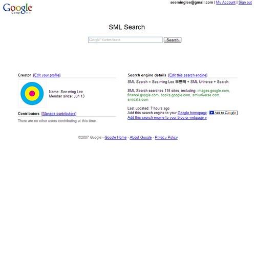 SML Flickr: SML Search / 20070921T0816-0400 / SML