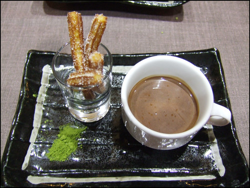 Kabuki Wellington - Churros and Chocolate