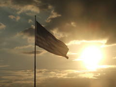 Flag (tammye*) Tags: sunset cloud sun nature beauty flag winner arkansas tcf quote1 quote2 thechallengefactory challengefactory thechallengefactorywinner