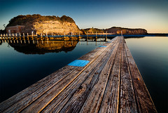 The Old Planks of Narrabeen Rock Pool (brentbat) Tags: water pool sunrise planks narrabeen rockpool northnarrabeen abigfave auselite