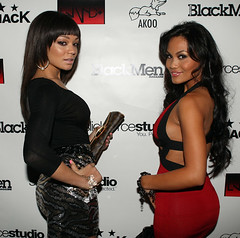 Chanta Patton and Daphne Joy @ BLACKMEN MAGAZINE COVER PARTY
