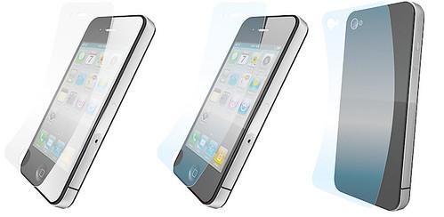パワサポ iPhone 4用保護フィルム