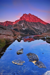 Ingalls Pass (mj.foto) Tags: autumn sunset fall landscape washington unitedstates pineneedles cascades pacificnorthwest 24mm larch alpenglow gnd neutraldensity mountstuart ingallspass leefilters d700 lakeingalls markjosue