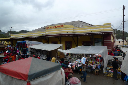 Train Station - Guamote, Ecuador