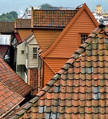 Bergen roofs are good in rain protection! - by Usovo