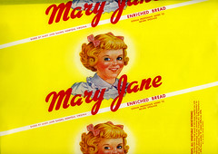 Mary Jane Bread Wrapper