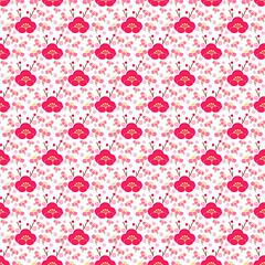 Plum Blooms - by vaneea