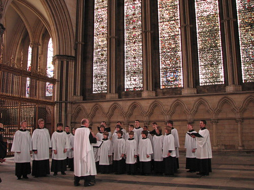 Tulsa Boy Singers, performing at York Minster, June 10, 2007