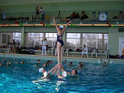 Synchronized Swimming Lifts. Synchronized Swimming