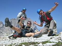 Strange mountain people?