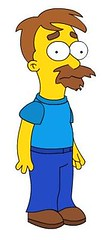 Darran in the Simpsons