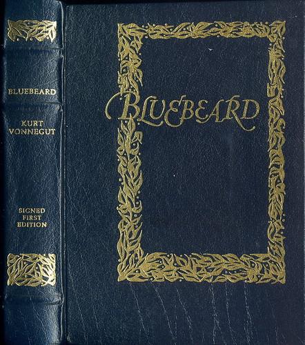 Bluebeard by Kurt Vonnegut, book cover.