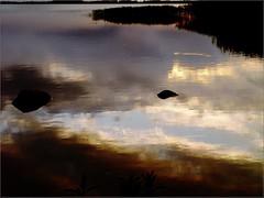 Lake reflection (Kirsten M Lentoft) Tags: sunset sky lake reflection water clouds denmark soe blueribbonwinner abigfave arresø momse2600 wowiekazowie diamondclassphotographer flickrdiamond kirstenmlentoft