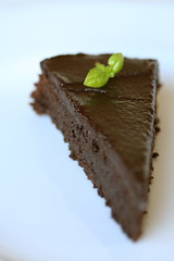 Flourless Chocolate-Basil Torte 2