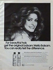 1970's Wella Balsam Shampoo (twitchery) Tags: vintage hair shampoo 80s 70s conditioner farrah vintageads vintagebeauty