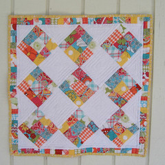Aug. Doll Quilt Challenge (WendysKnitch) Tags: quilt august quilting dollquilt miniquilt