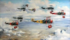 Jasta 11 (Hansmannn) Tags: red berlin plane war aircraft battle ww1 baron wolff manfred lothar luftwaffe richthofen jasta steinhauser janzen gatow luftwaffenmuseum battleplane tuxen hemer mohnicke jasta11 gunplane
