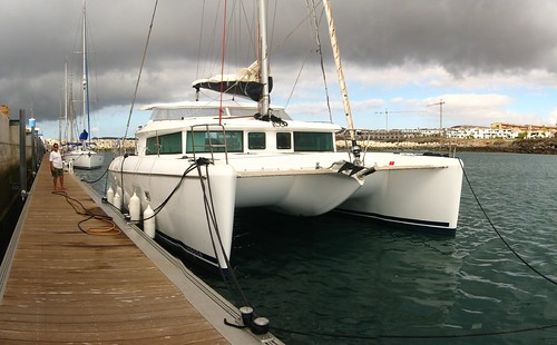 Lagoon 420 sailing catamaran (San Miguel, Tenerife, Canary Islands)