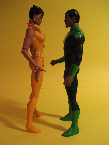 John Stewart and Vixen