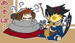 911212350 (misao_katsuragi) Tags: chibi naruto sasuke suna gaara akatsuki