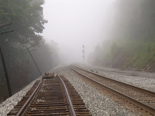 Picture of partially built Railroad
