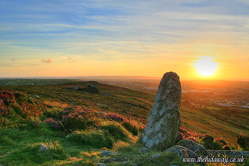 Carn Brea Sunset in HDR