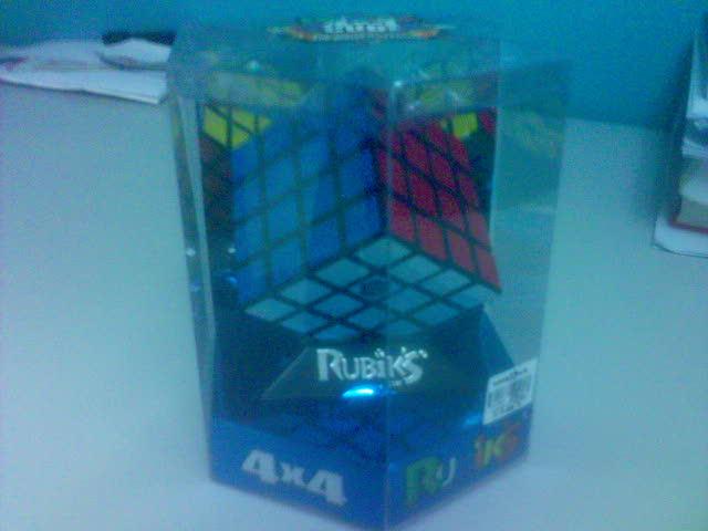 My Unopened Rubik's Revenge