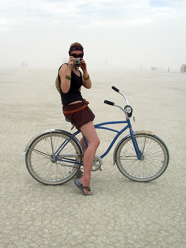 bicycle burningman ash elaine 2007 burningman2007