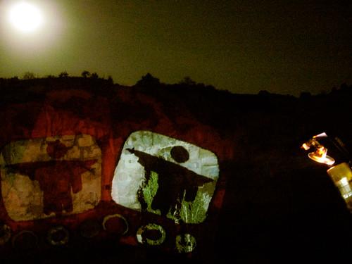 Projector Valley by Night, Cappadocia