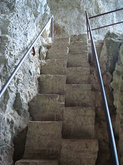 Stairs Cut Into The Stone