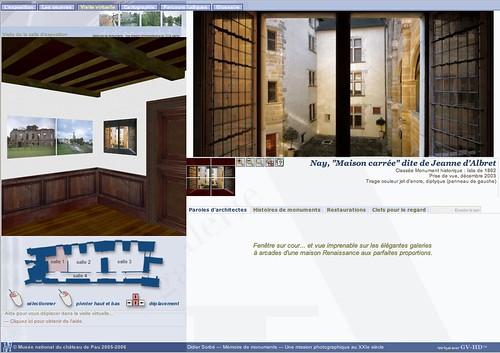 Galerie Virtuelle du Musée National du Château de Pau