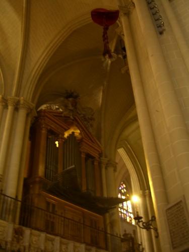 Organo (sparafuoco a canne mozze) della cattedrale di Toledo