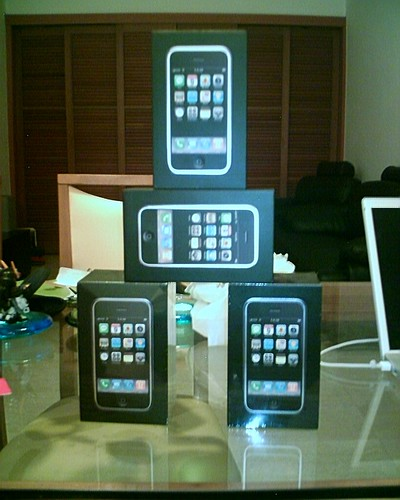 The Tower of iPhones