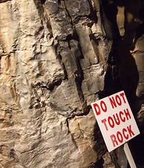 Do Not Touch Rock