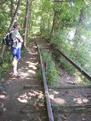 Abandoned Railroad Tracks (Cowtools) Tags: hiking maryland susquehannariver susquehannastatepark