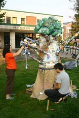 (CM Sims) Tags: sculpture green art club canon300d sd asu canondigitalrebel erection dslr recycling organization collegestudents megalith wnc alangreenspan sustainabledevelopment westernnorthcarolina appalachianstateuniversity boonenc