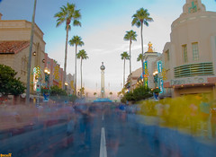 Foot Traffic at the Crossroads of the World (Tom.Bricker) Tags: longexposure sunset vacation architecture america photoshop palms landscape orlando nikon raw florida dusk disney mickey disneyworld hollywood mickeymouse movies characters pluto nikkor wdw dslr waltdisneyworld figment mgm magical dhs iconic dayafterthanksgiving themepark disneymgmstudios sunsetblvd waltdisney hollywoodboulevard grauman disneystudios orlandoflorida graumanschinesetheatre wdi crossroadsoftheworld lakebuenavista imagineering colorsaturation disneyresort nikondslr 5photosaday disneypictures nikkor18200mmvrlens yearofamilliondreams nikond40 photoshopcs3 disneypics waltdisneyimagineering thestudios wedenterprises disneyhollywoodstudios wdwfigment tombricker vacationkingdom vacationkingdomoftheworld disneyworldpictures waltdisneyworldpictures