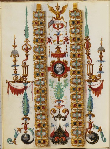 Jewel Book of the Duchess Anna of Bavaria (1550s) y